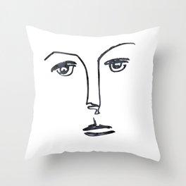 her #3 Throw Pillow