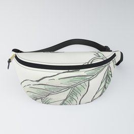 Nature in Blue & Green Fanny Pack