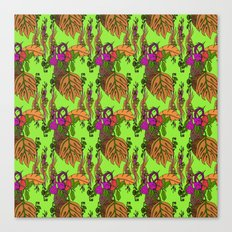 Jamaican Botanicals - Autumn Canvas Print