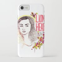 allison argent iPhone & iPod Cases featuring Queen Argent by Grit Spit and a Whole Lot of Duct tape