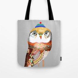 Hat Owl. Tote Bag