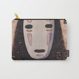 No Face - Spirited Away with Soot sprites (Susuwatari) Carry-All Pouch