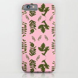 Leaves collection I iPhone Case