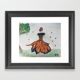 Monarch Queen Framed Art Print