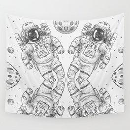 astro Traveller Retro Wall Tapestry