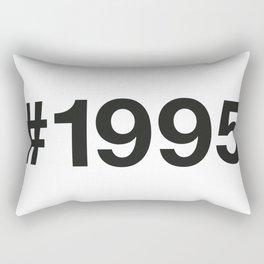 1995 Rectangular Pillow