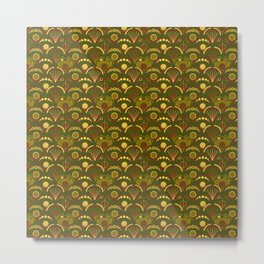 Camo Arches Metal Print