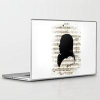 mozart Laptop & iPad Skins featuring Mozart - Dies Irae by viva la revolucion