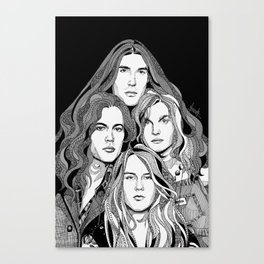 A Band Called Alice Canvas Print
