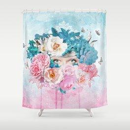 FLORAL EVA Shower Curtain