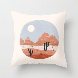 sierra estrella Throw Pillow