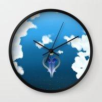 kingdom hearts Wall Clocks featuring Kingdom Hearts by KiwisCorner