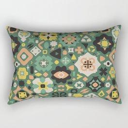 A Little Bit Folky Rectangular Pillow