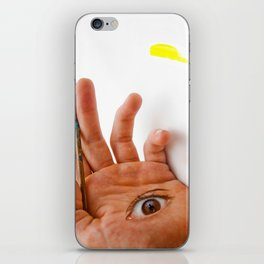 Through the Hand iPhone Skin