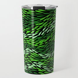Authentic Aboriginal Art - Grass Travel Mug