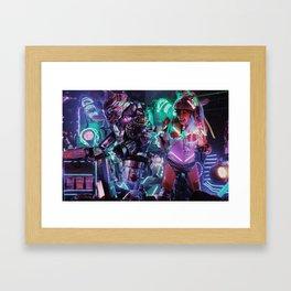 Robot Girl 2 Framed Art Print