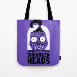 Shrunken Heads Tote Bag