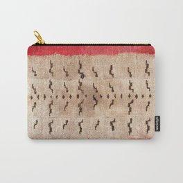 Tsudrukt South Tibetan Tiger Skin Rug Print Carry-All Pouch
