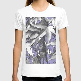 Leaves - Violet T-shirt