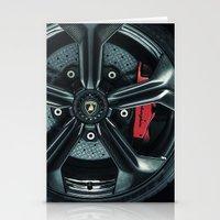 lamborghini Stationery Cards featuring Lamborghini Sesto Elemento  by Spyck