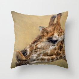Pucker Up Throw Pillow