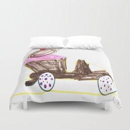 Ice Cream Sundae Dump Truck Duvet Cover