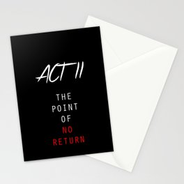 ACT II Stationery Cards