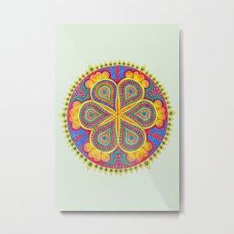 Mandala #2 Metal Print