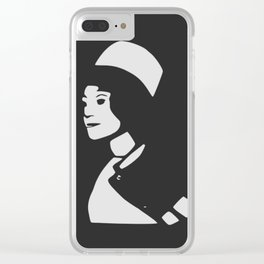 Alice by Ebizz Ness Clear iPhone Case