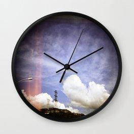 The Edge of Suburbia Wall Clock