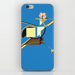 Space Ship iPhone Skin