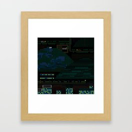 A Coded Message #4 Framed Art Print