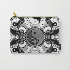 YinYang Sacred Geometry Totem Carry-All Pouch
