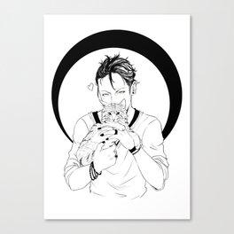 Magnus Bane Canvas Print