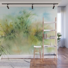 Sunshine Promise Watercolors Wall Mural