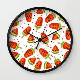 Watermelon pattern Wall Clock