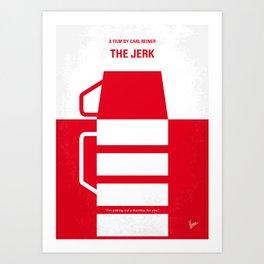 No350 My The Jerk minimal movie poster Art Print