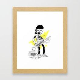 Keytar Jam Framed Art Print