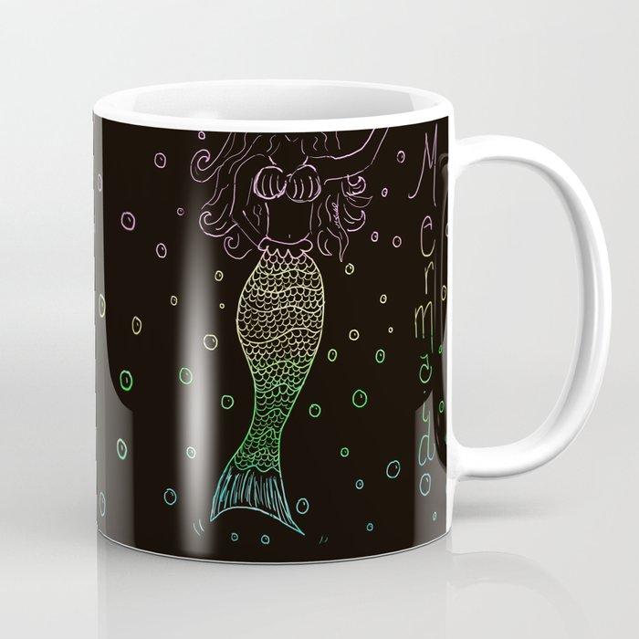 Mermaid In The Dark Coffee Mug