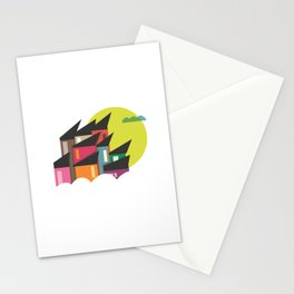 Houses of Colors Stationery Cards