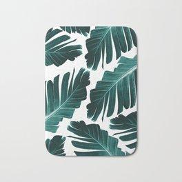 Tropical Banana Leaves Dream #1 #foliage #decor #art #society6 Bath Mat
