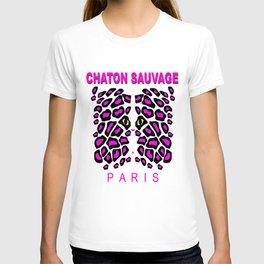 Chaton Sauvage Paris T-shirt