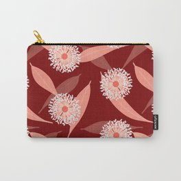 Australian Flora in Red Carry-All Pouch
