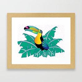 Tell me I am  Toucan Framed Art Print