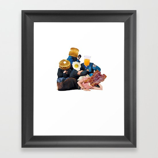 The Most Important Meal of the Day Framed Art Print