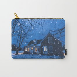 Snowsquall on the Farm Carry-All Pouch