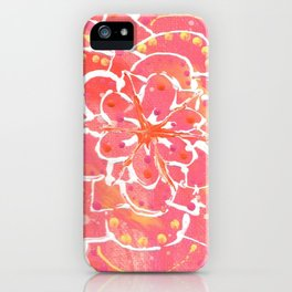 """""""Radiantly You"""" Abstract Painting iPhone Case"""