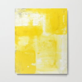 Yellow #1 Metal Print