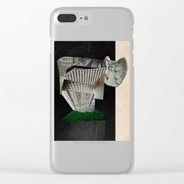 The Tower: Babel in Space Clear iPhone Case