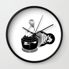 Nobody Knows The Real Me Wall Clock